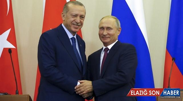 Putin'den Erdoğan'a Cumhuriyet Bayramı Tebriği