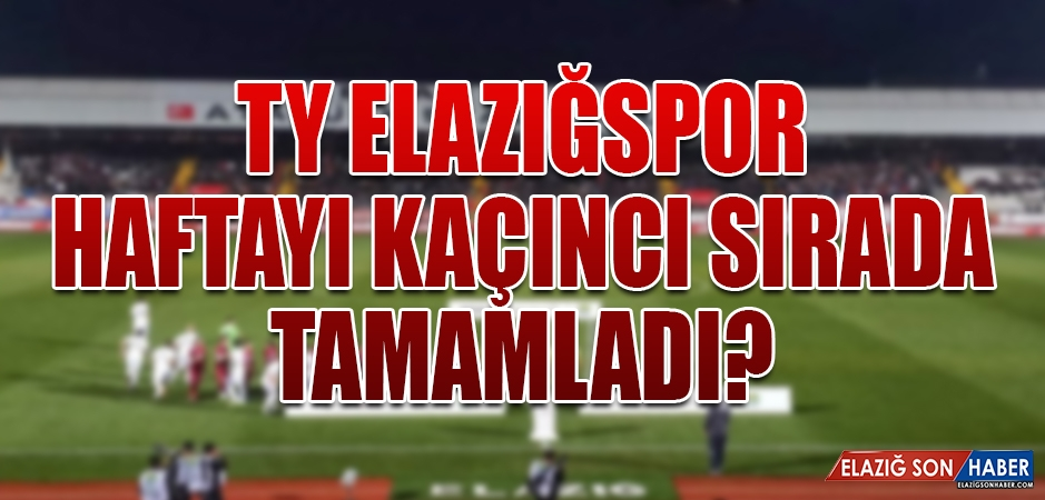 Spor Toto 1.Lig'de 10.Hafta Puanları Belli Oldu