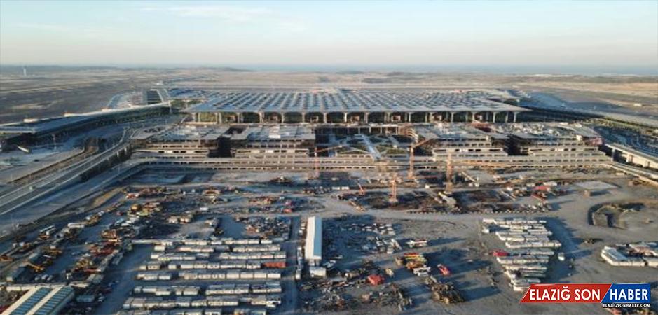 Tarihi Açılış Öncesi İstanbul 3. Havalimanı Havadan Böyle Görüntülendi