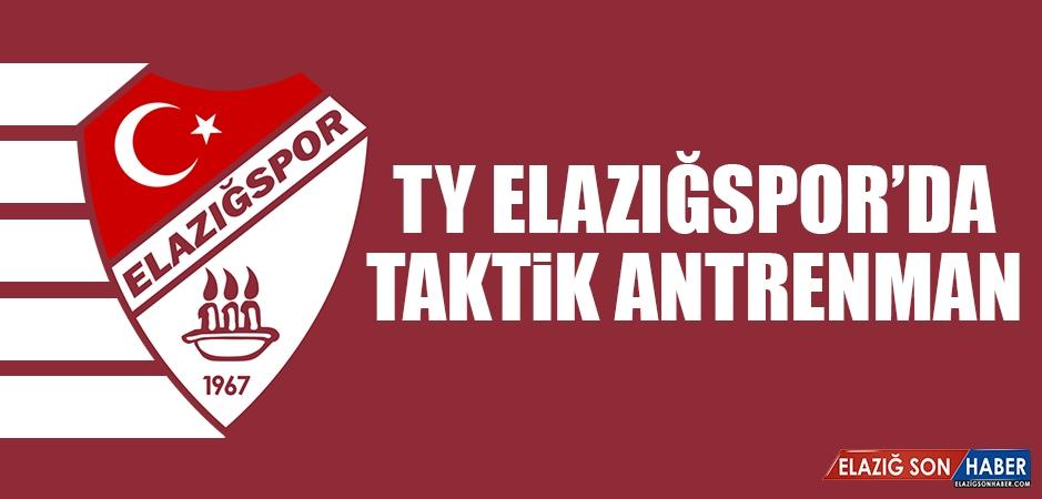 Tetiş Yapı Elazığspor'da Taktik Antrenman