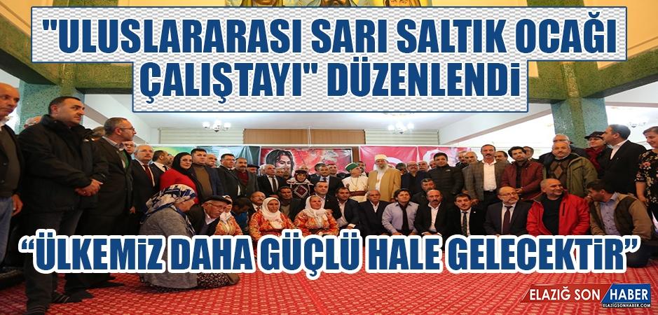 """Tunceli'de """"Uluslararası Sarı Saltık Ocağı Çalıştayı"""""""