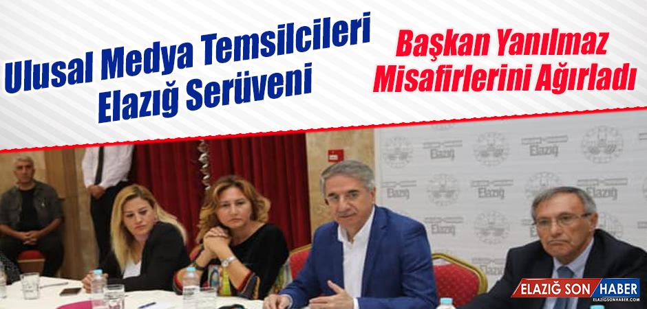 Ulusal Medya Temsilcileri Elazığ'da