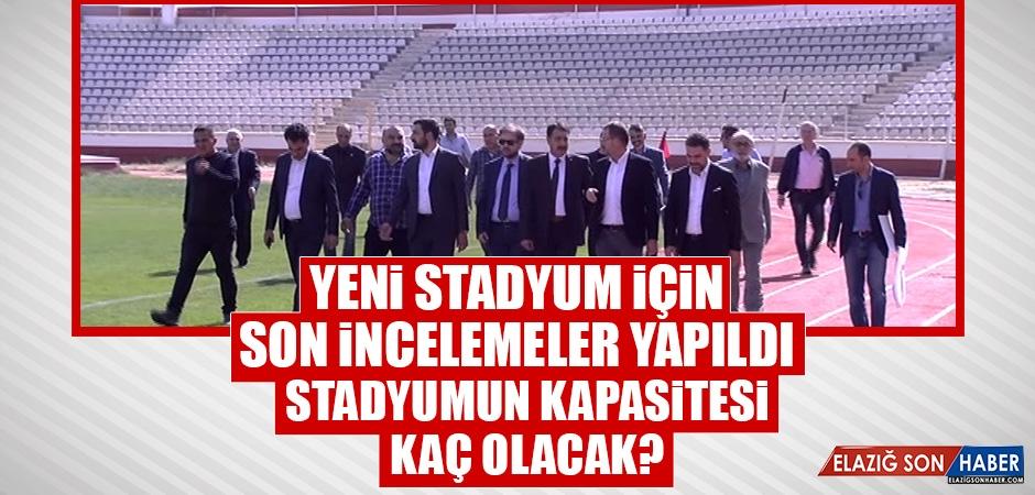 Yeni Stadyum İçin Son İncelemeler Yapıldı