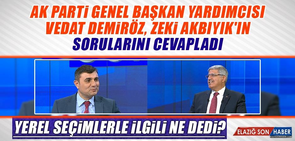 Anadolu Soruyor'un Konuğu Vedat Demiröz Oldu