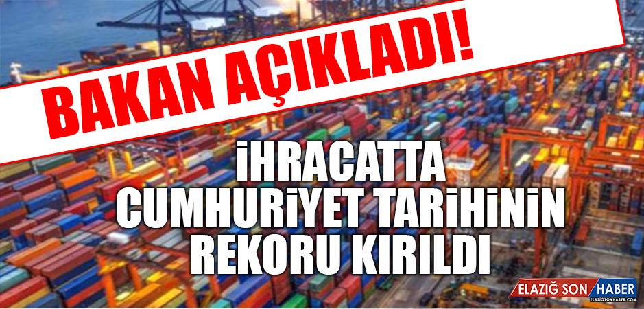 Bakan Pekcan: Cumhuriyet Tarihinde Aylık En Yüksek İhracat Rakamına Ulaştık