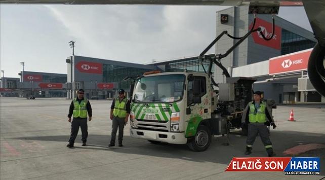 Dünyanın en büyük yakıt ikmal sistemi İstanbul Havalimanı'nda