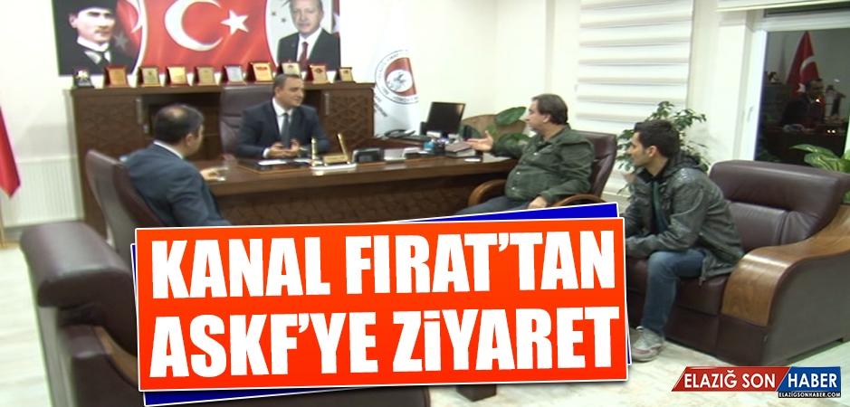 Kanal Fırat'tan ASKF'ye Ziyaret