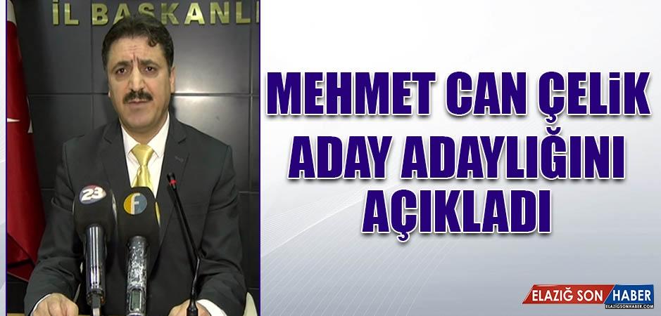 Mehmet Can Çelik, Aday Adaylığı Müracaatını Yaptı