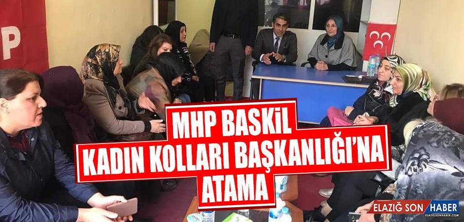 MHP Baskil Kadın Kolları Başkanlığı'na Atama