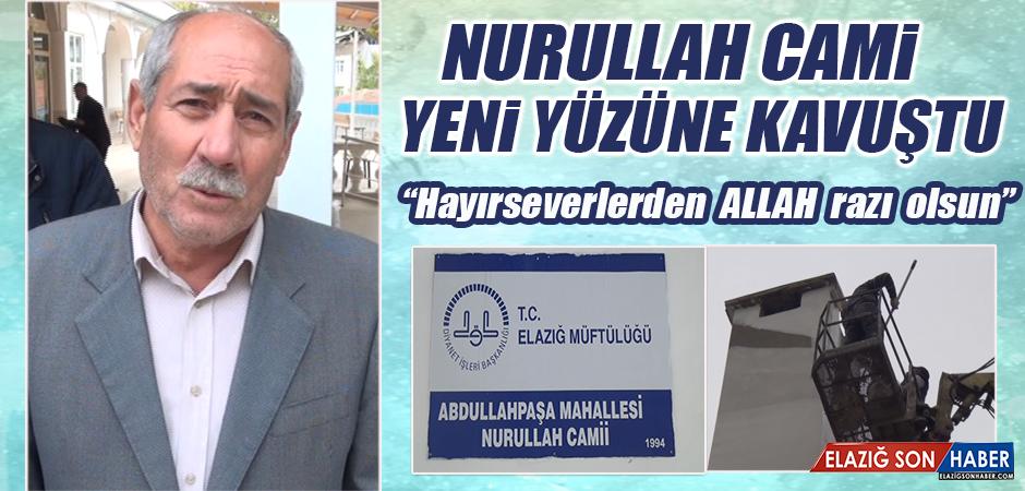 Nurullah Caminin Dış Cephesi Yeni Yüzüne Kavuştu