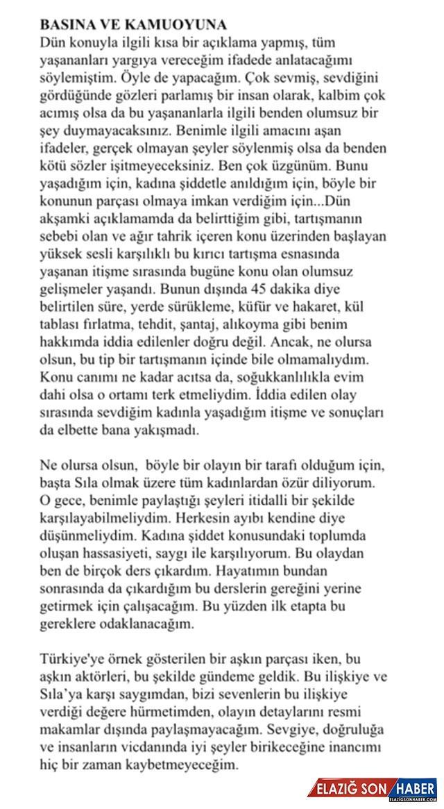Son Dakika! Sevgilisi Sıla'yı Döven Ahmet Kural: Tüm Kadınlardan Özür Dilerim
