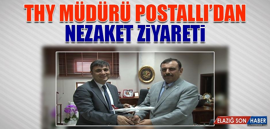 THY Müdürü Postallı'dan Nezaket Ziyareti