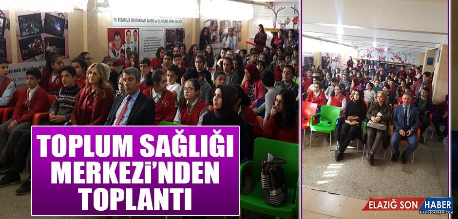 Toplum Sağlığı Merkezi'nden Toplantı