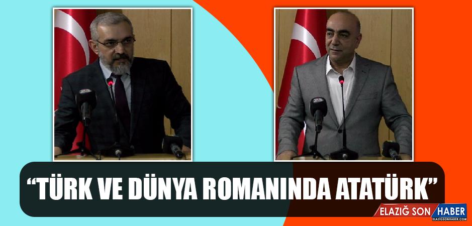 """""""Türk ve Dünya Romanında Atatürk"""""""