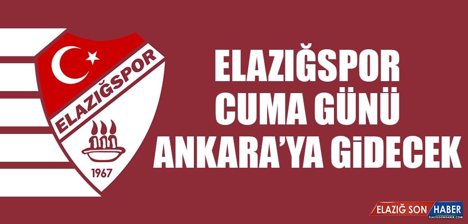 TY Elazığspor'un Konaklama Giderleri Çankaya Belediyesi'nden
