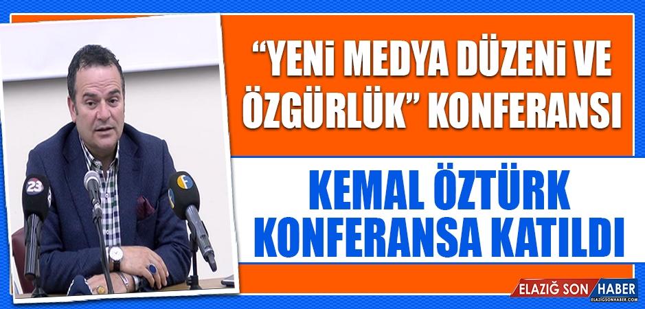 """""""Yeni Medya Düzeni ve Özgürlük"""" Konferansı"""