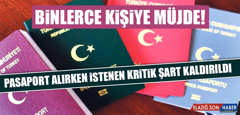 Yeşil Pasaport Alabilme Şartları Değiştirildi