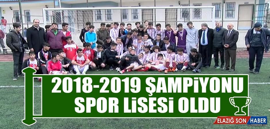 2018-2019 Şampiyonu Spor Lisesi Oldu