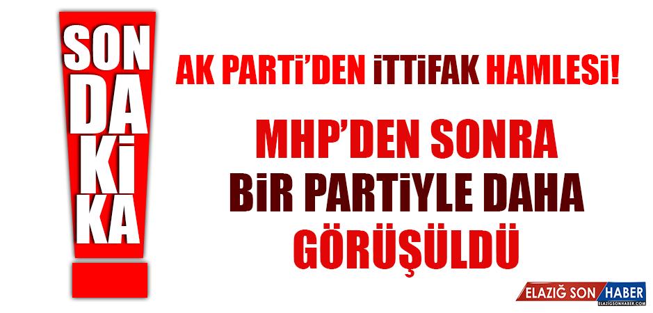AK Parti'den ittifak hamlesi! MHP'den sonra bir partiyle daha görüşüldü