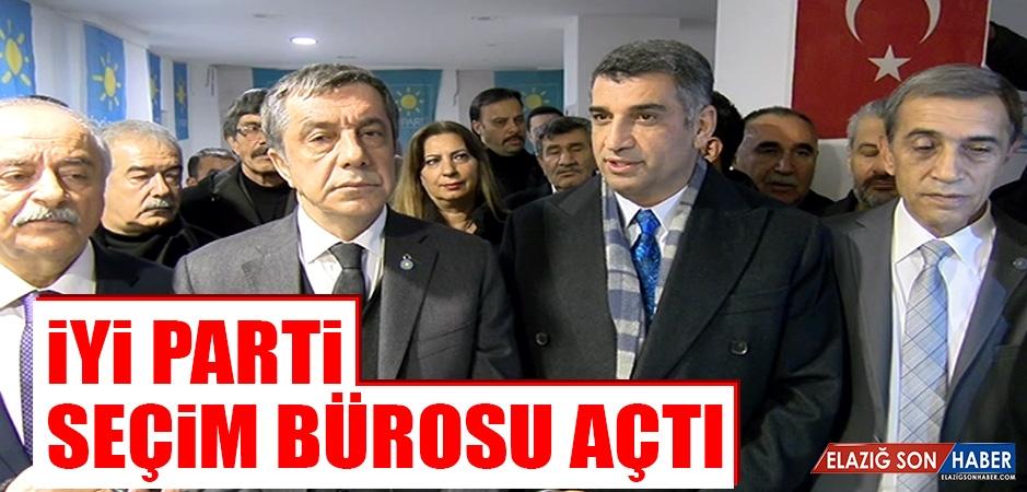 İYİ Parti Seçim Bürosu Açtı