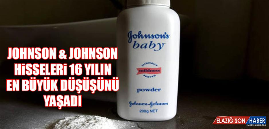 Johnson & Johnson Hisseleri 16 Yılın En Büyük Düşüşünü Yaşadı
