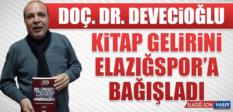 Kitap Gelirini Elazığspor'a Bağışladı