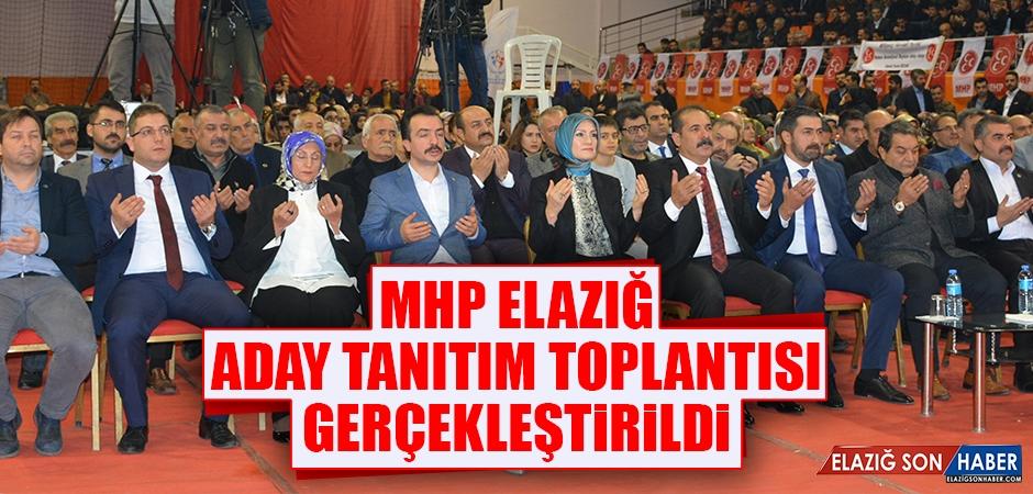 MHP Elazığ Aday Tanıtım Toplantısı Gerçekleştirildi