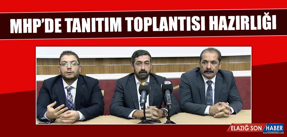 MHP'de Tanıtım Toplantısı Hazırlığı