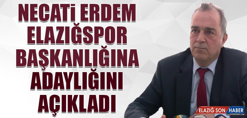 Necati Erdem Elazığspor Başkanlığına Adaylığını Açıkladı