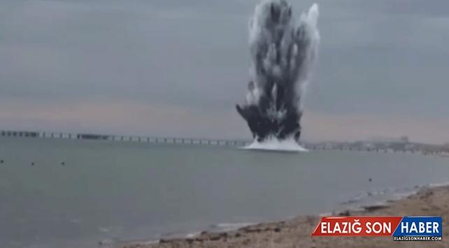 Rusya'da İkinci Dünya Savaşı'ndan kalma mayın patlatıldı