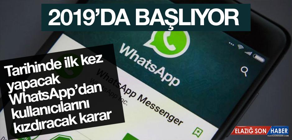 WhatsApp'dan Kullanıcılarını Kızdıracak Karar