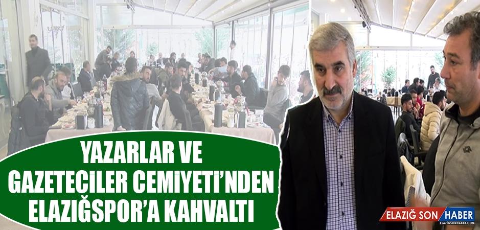 Yazarlar ve Gazeteciler Cemiyeti'nden Elazığspor'a Kahvaltı