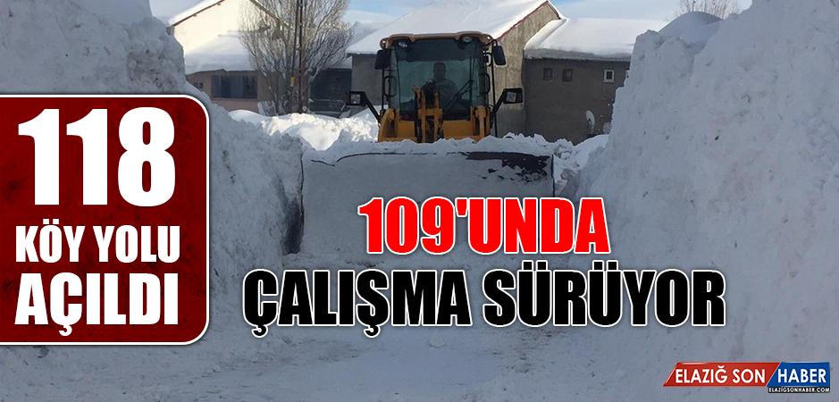 118 Köy Yolu Açıldı