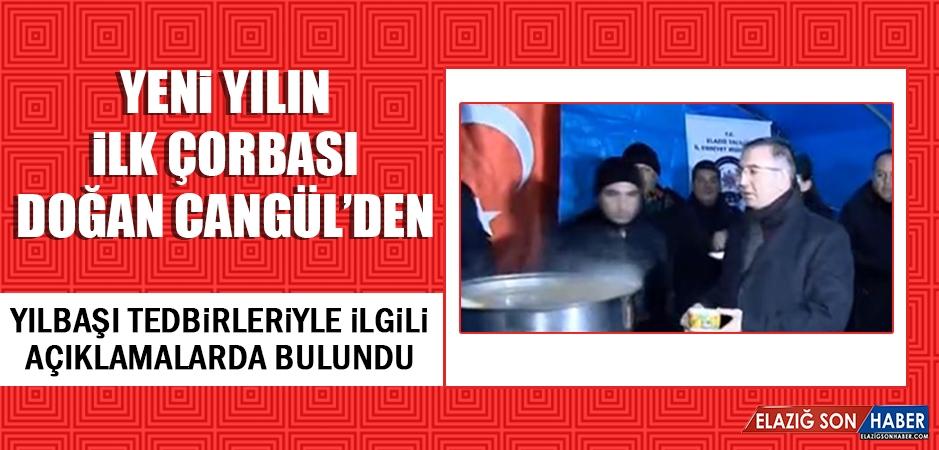 2019 Yılının İlk Çorbası Müdür Cangül'den