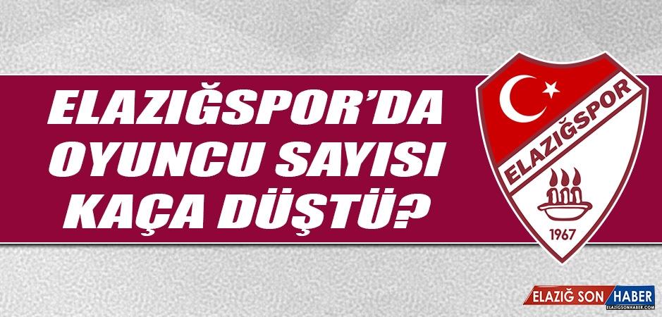 Elazığspor'da Oyuncu Sayısı Kaça Düştü?