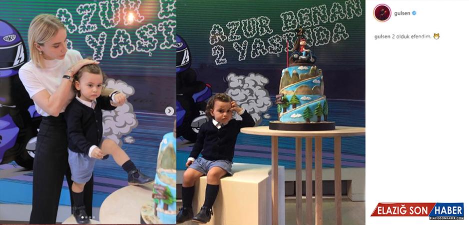 Gülşen, Oğlu Azur Benan'ın Doğum Günü Partisi için 15 Bin Lira Harcadı