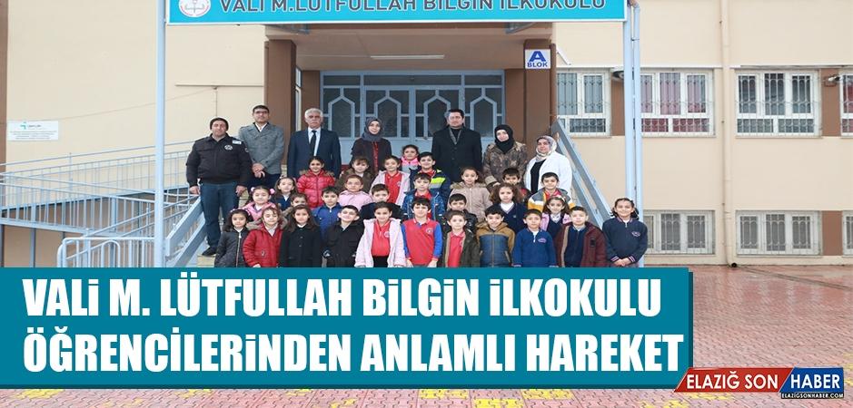 Vali M. Lütfullah Bilgin İlkokulu Öğrencilerinden Anlamlı Hareket