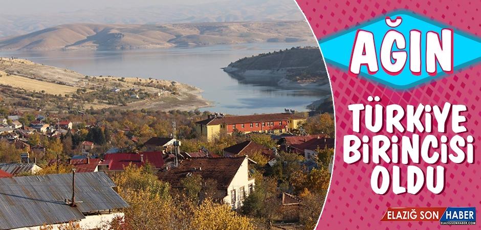 Ağın İlçesi Türkiye Birincisi Oldu