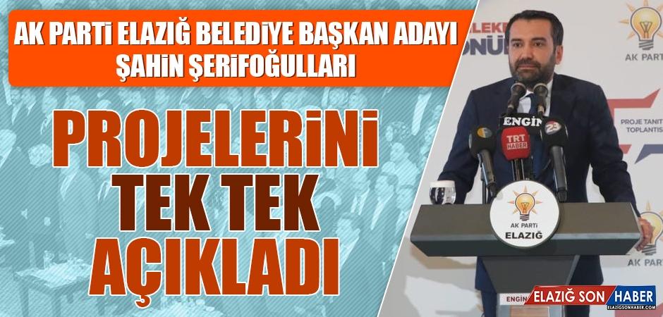 AK Parti Elazığ Belediye Başkan Adayı Şahin Şerifoğulları Projelerini Açıkladı