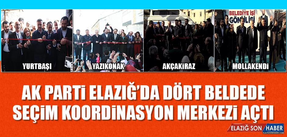 AK Parti Elazığ'da Dört Beldede SKM Açtı