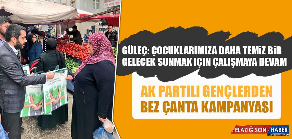 AK Partili Gençlerden Bez Çanta Kampanyası