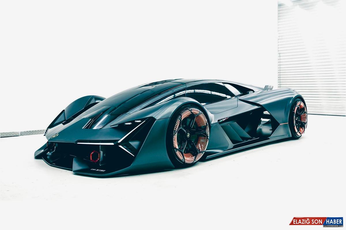 Asfaltları Eritecek Lamborghini LB48H Terzo Millennio Concept'ten İlk Görüntüler