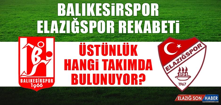 Balıkesirspor - Elazığspor Rekabeti
