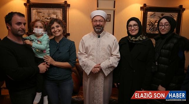 Diyanet İşleri Başkanı Erbaş'tan 'kök hücre bağışı' çağrısı
