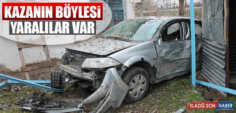 Elazığ'da Kaza 5 Yaralı Var