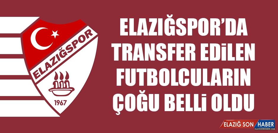 Elazığspor'da Transfer Edilen Futbolcuların Çoğu Belli Oldu