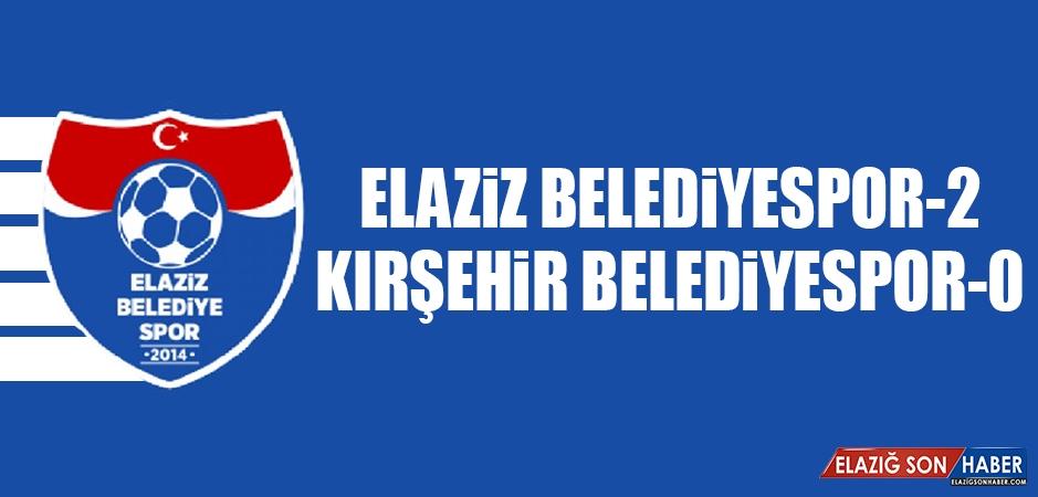 Elaziz Belediyespor 2-0 Kırşehir Belediyespor