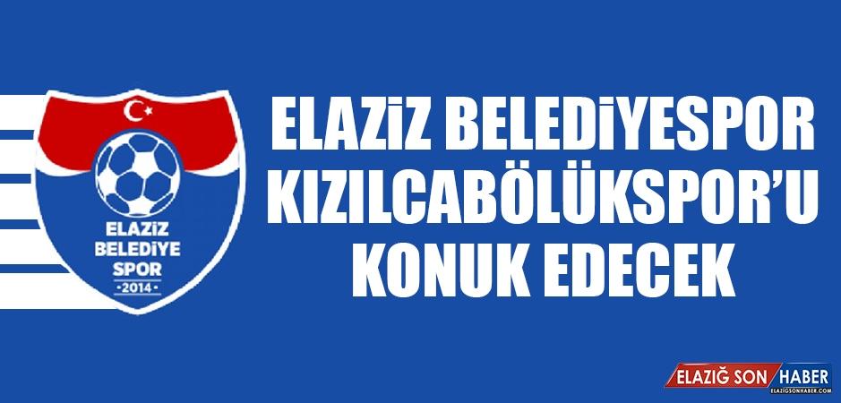 Elaziz Belediyespor Kızılcabölükspor'u Konuk Edecek