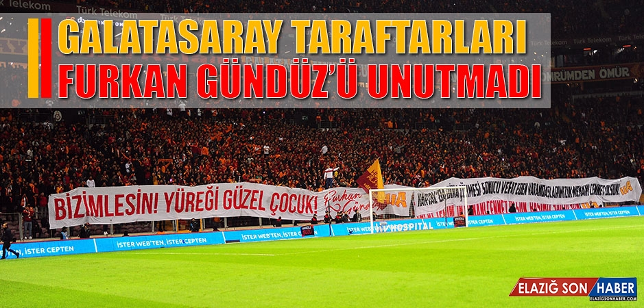 Galatasaray Taraftarları Furkan Gündüz'ü Unutmadı