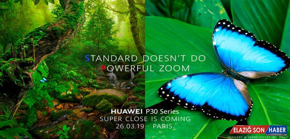 Huawei'den Samsung'a Diss: P30 Pro, 5x Optik Yakınlaştırmayla Gelecek